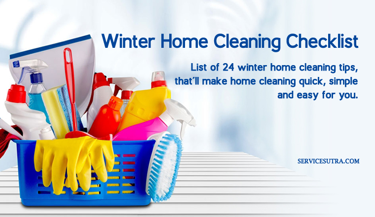 Ultimate Winter Home Cleaning Checklist to Make Cleaning Super Easy
